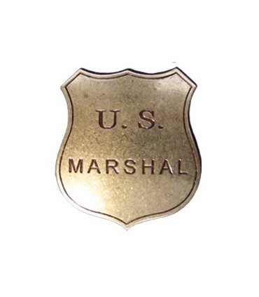 Placa U.S. Marshal