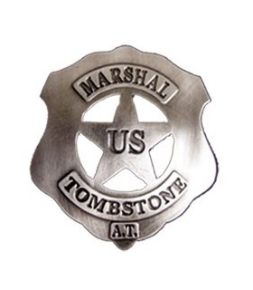 Placa Marshal US Tombstone