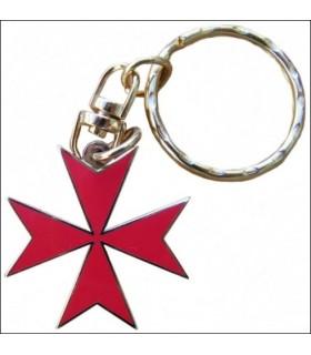 Llavero Cruz de Malta