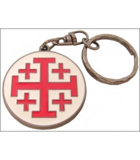 Llavero Cruz de San Juan de Jerusalem
