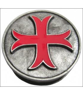 Pastillero cruz templaria patada