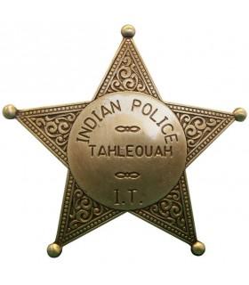 Placa de la Policia India