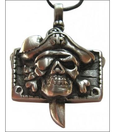 Colgante cabeza de pirata