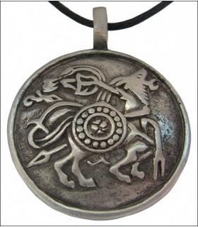 Colgante símbolos vikingos