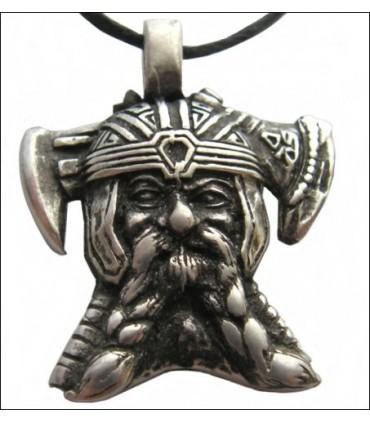 Colgante jefe vikingo