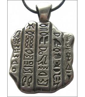 Colgante egipcio piedra de Rosatta