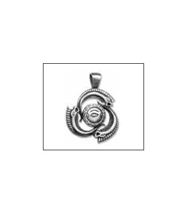 Colgante símbolo griego