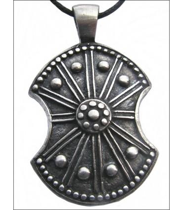 Colgante escudo troyano