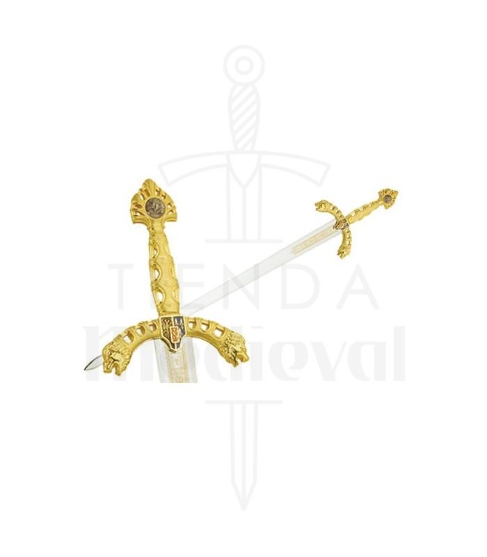 Espada Durendal de Roldán en Oro