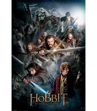 Póster El Hobbit, un viaje inesperado, 61x91 cms.