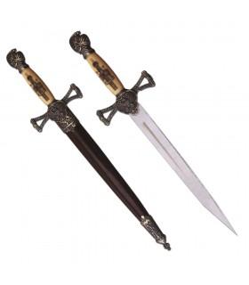 Daga medieval con vaina (35 cms.)
