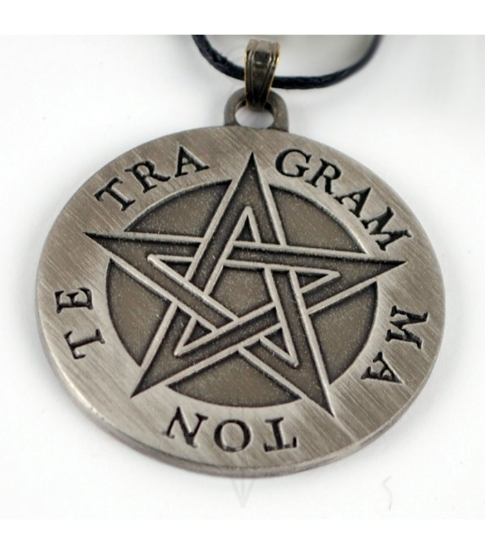 d56ff849c262 Colgante pentagrama Tetragammaton. Colgantes - Bisutería
