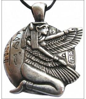 Colgante egipcio, Isis Alada