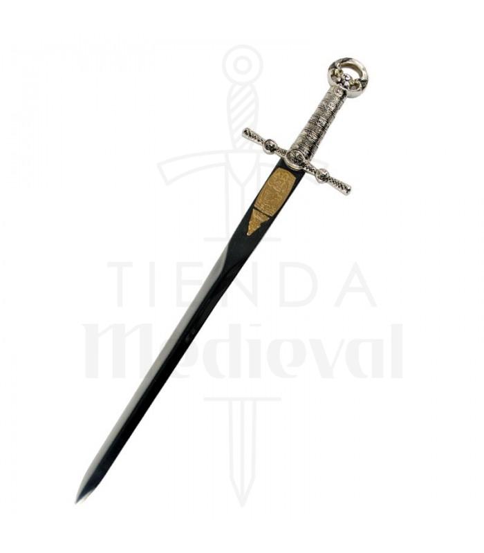 Abrecartas espada cruzados