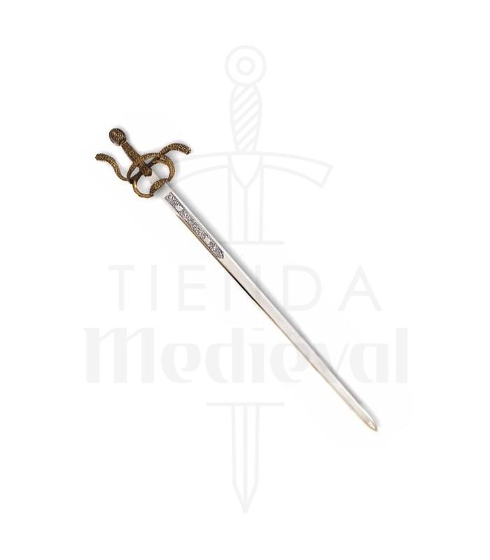 Espada Rey Felipe II, tamaño natural