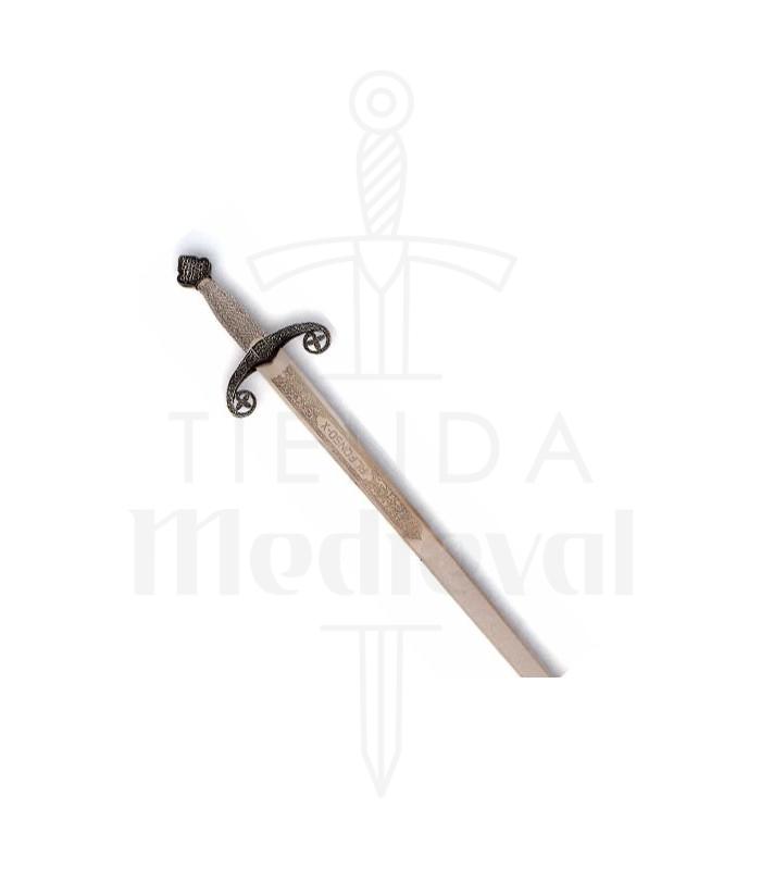 Espada Alfonso X, acabado rústico