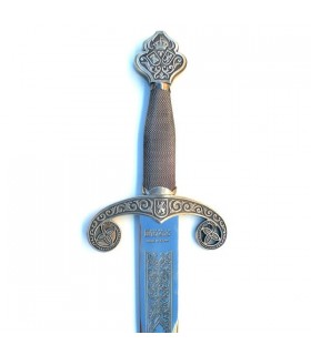 Espada Alfonso X plateada