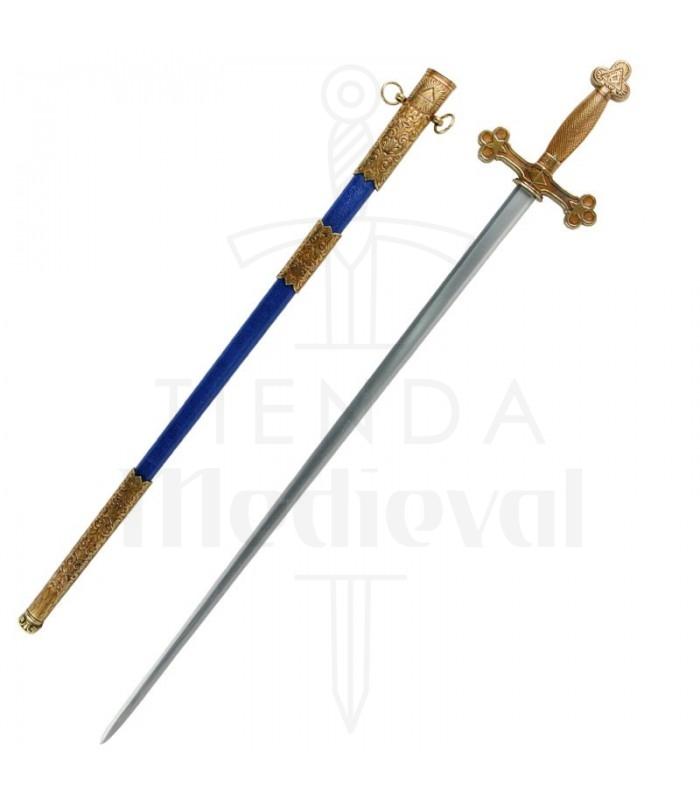 Espada masónica (s. XVIII)