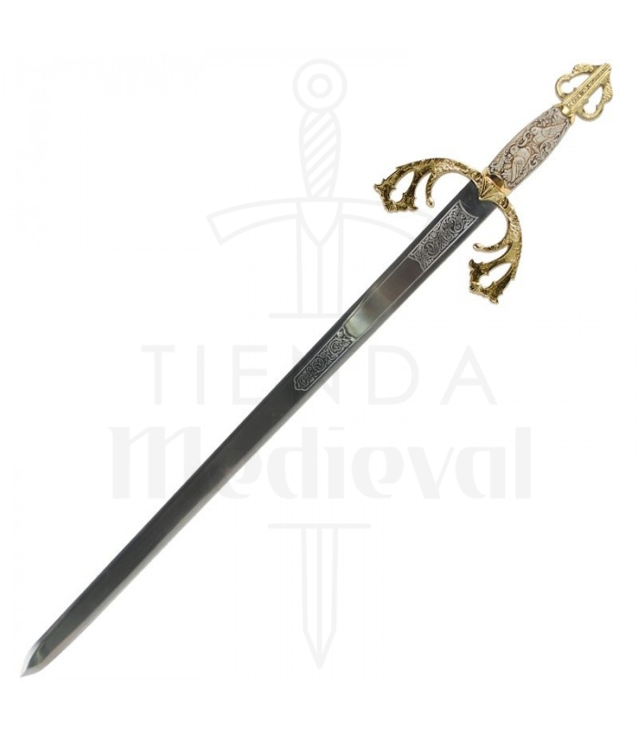 Official Replica By United Cutlery Rich In Poetic And Pictorial Splendor New Capable Orcrist Sword Of Thorin Oakenshield