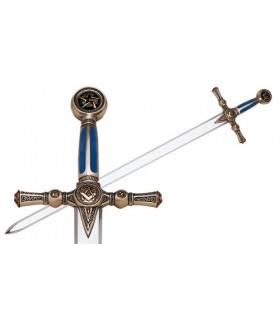 Espada de los masones en Plata
