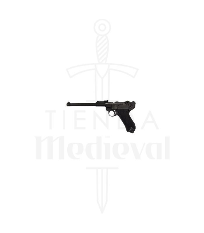 Pistola Luger P08 modelo de artillería