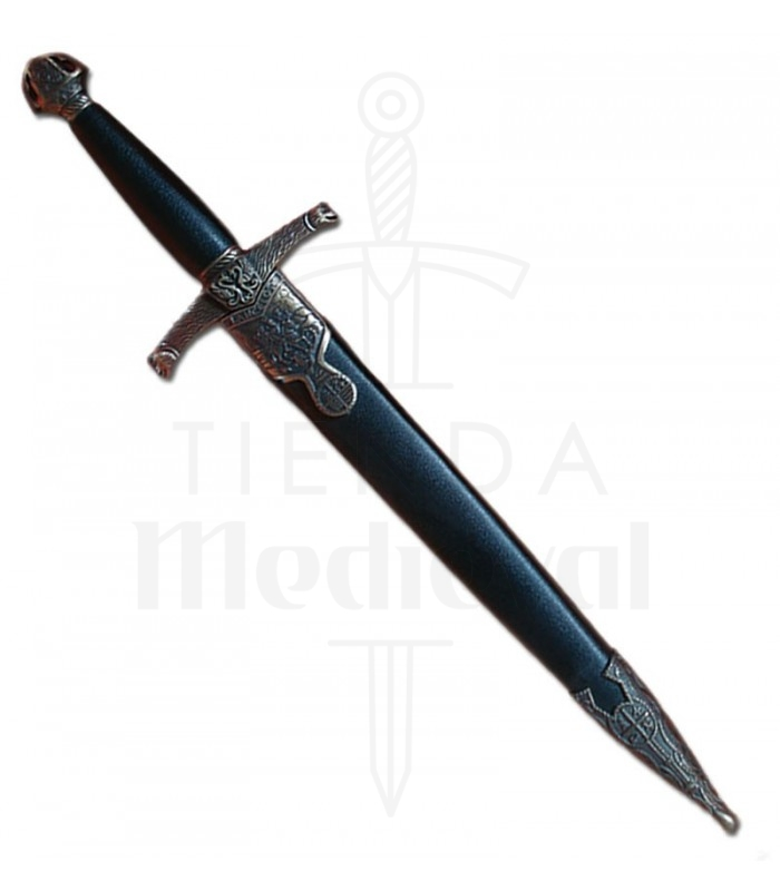 Daga Lancelot con vaina