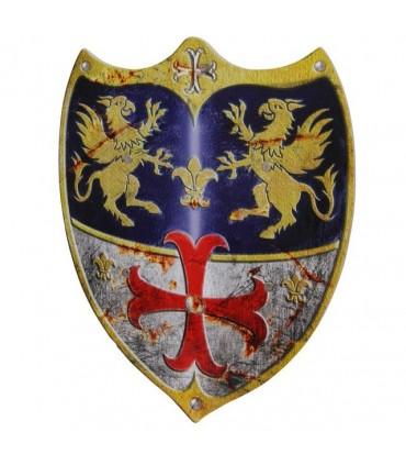 Escudo medieval Adam, para niños