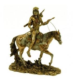 Figura Indio Sioux a caballo