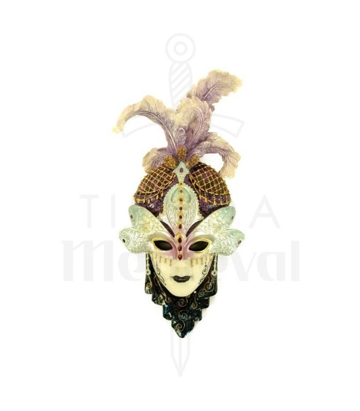 Máscara veneciana antifaz libélula