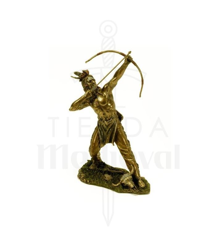 Figura indio con arco