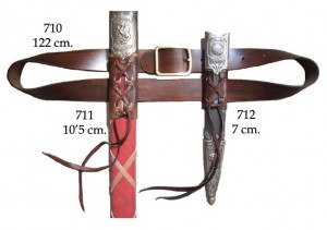 Swords and daggers belt