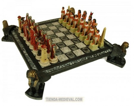Romans and Egyptians chess-board