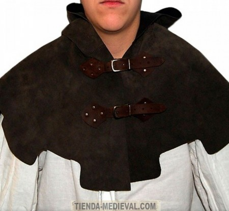 CUBRE HOMBROS MEDIEVAL CUERO 450x415 - Live Action Role-Playing Games