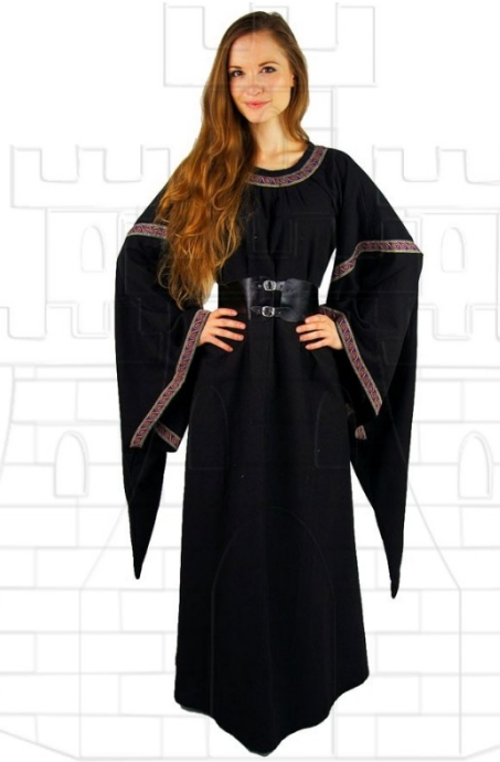Vestido medieval mujer Ida - Real Escape Room o Escape Game Medieval
