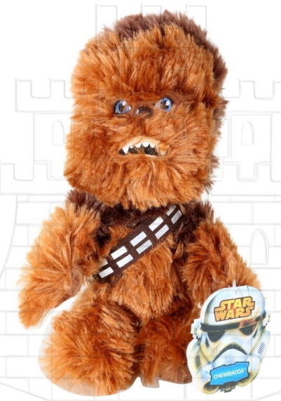Peluche Chewbacca Star Wars - Stars Wars Celebration 2017