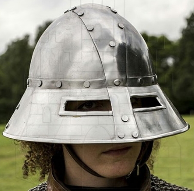 CASCO MEDIEVAL GUARDIA - Casco medieval Guardia