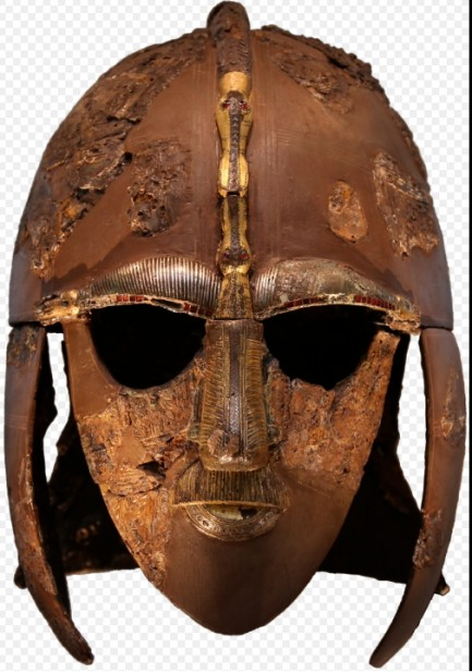 Casco encontrado en Sutton Hoo 433x617 custom - El Casco de Sutton Hoo
