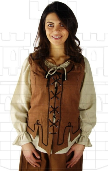 Chaleco medieval mujer - Chalecos medievales