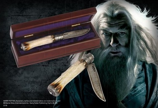 Cuchillo de Dumbledore Harry Potter - Cuchillo de Dumbledore de la saga Harry Potter