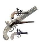 Pistolas de pedernal