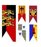 Estandartes medievales