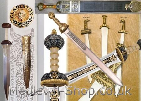 Roman gladius, spatha swords