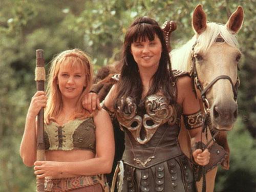 Xena y Gabrielle1 - Épée de Xéna: Princesse guerrière