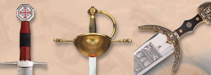 Épées Tolède. t'offre une Épée de Tolède