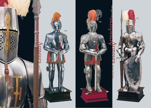 Armaduras medievales fabricadas en Toledo (España)