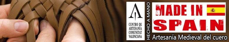 Artesanía en cuero medieval. Made in Spain