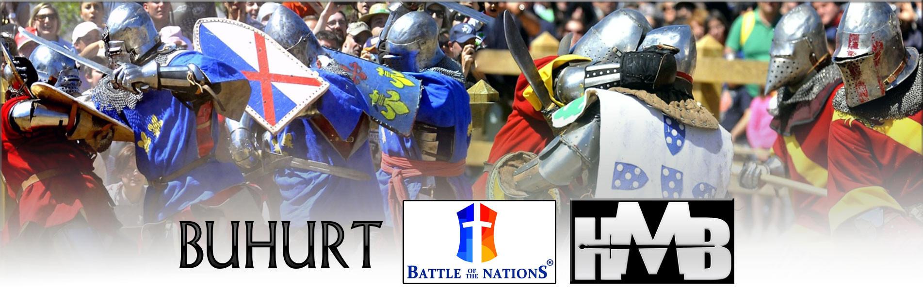 Mittelalterlicher Kampf Buhurt-HMB