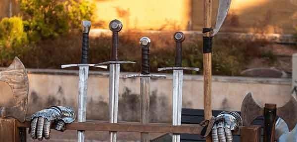 Crea tu propia Espada de Lucha Personalizada