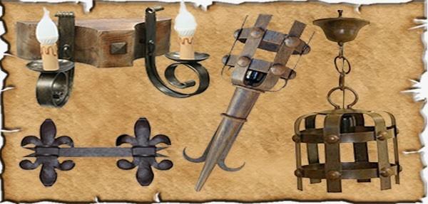 Forja Medieval fabricada artesanalmente